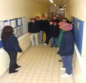 Manufacturing team corridor spot